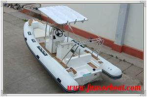 5.8m FRP Boat with Inflatable Tube pictures & photos