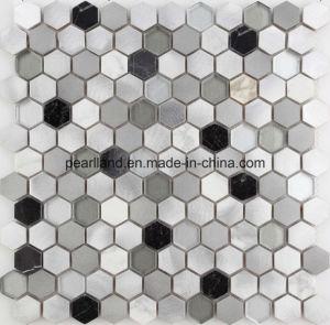 Aluminum Mosaic Tiles Stone Matel Tiles Decoration Kitchen Backsplash Bathroom Wall Tiles Acs-Hns4301 pictures & photos