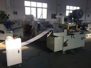Auto Adhesive Foam Label Flat Bed Die Cutting Machine with Roll Feeding pictures & photos