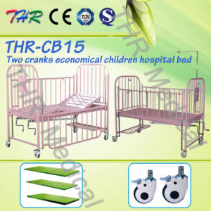 Thr-CB15 Two-Crank Children Medical Adjustable Bed pictures & photos