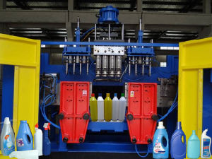 1L HDPE Detergent Bottle Plastic Blowing Machine pictures & photos