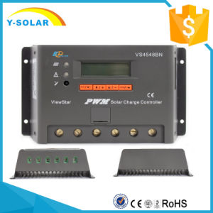 Epsolar 45A 12V/24V/36V/48V Solar Charge/Panel Controller with LCD and Ce Vs4548bn pictures & photos