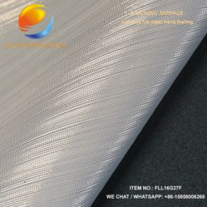 New Design of Artificial Leather for up Show Upper with Shining Surface Fll16g27f pictures & photos