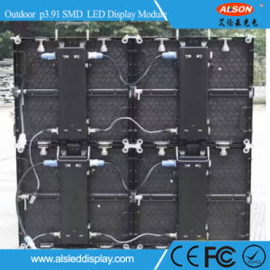 Outdoor Full Color SMD 1921 P3.91 Rental LED Video Wall pictures & photos