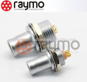 FAG Metal Circular Connector Non-Laching Fixed Plug 8 Pin Male Female Connector pictures & photos