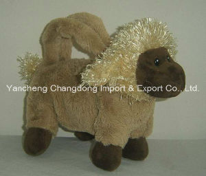 Plush Goat Hand Bag with Long Hair Material pictures & photos