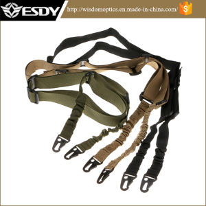Adjustable Military 2 Point Tactical Bungee Rifle Sling pictures & photos