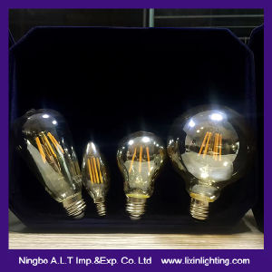A60 2W/4W/6W/8W/10W LED Filament Bulb for Lighting and Decoration pictures & photos