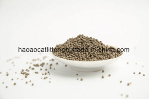Bentonite Cat Litter in Yellow Color and Less Dust pictures & photos