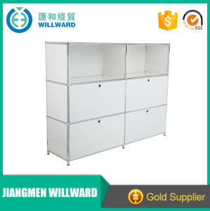 Sturdy 4 Door Steel Storage Modular DIY Office Transcube Modular Filing Cabinet pictures & photos
