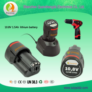 New Arrival 10.8V 1.5ah Electric Tools Lithium-Ion Battery Pack pictures & photos