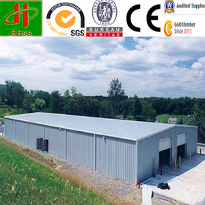 Low Cost Prefab Metal Workshop Shed Factory Steel Building pictures & photos