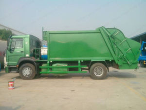 Electric Garbage Collecting Vehicle (ZZ1167M4611) pictures & photos