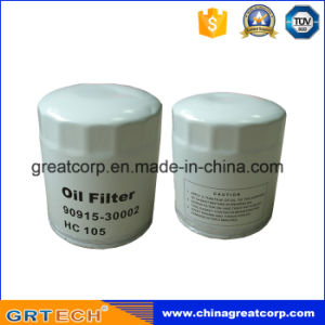 Auto Oil Filter 90915-30002 for Toyota Corolla pictures & photos