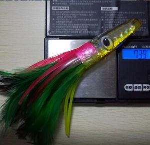 New Design 18cm Octopus Soft Resin Jig Skirts Feather Bait pictures & photos