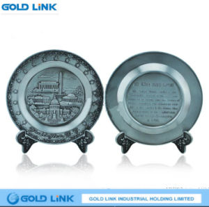 Crafts Gift Bronze Custom Metal Plate Souvenir Plaque Craft Decoration pictures & photos