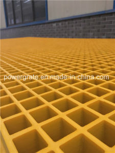FRP Molded Grating for Chemical Platforms pictures & photos