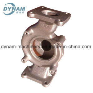 Machinery Parts Pipe Fittings Valve CNC Machining Iron Sand Casting pictures & photos