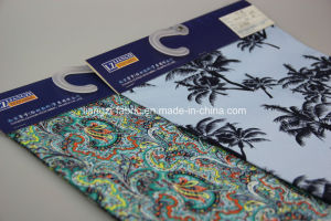 Satin Chino Reactive Printing Fabric pictures & photos