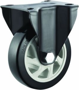 "4′′/5"" Medium Heavy PVC Caster Wheels for Hand Trolley Swivel/Fixed/Brake pictures & photos"