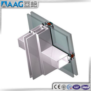 Curtain Wall System Aluminum PVDF Profile pictures & photos