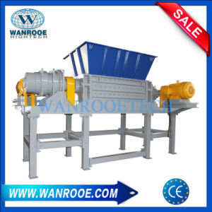 Double Shaft Shredder for Industrial Cardboard/ Used Metal/ Mainboard pictures & photos