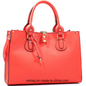 New Fashion PU Women Handbag Fashion Bags with Lock pictures & photos