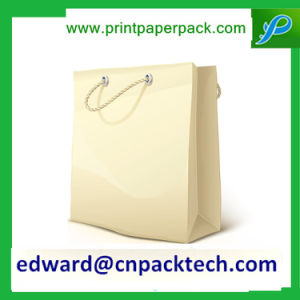 Recycled Customized fashion Paper Gift Bag with Handle pictures & photos