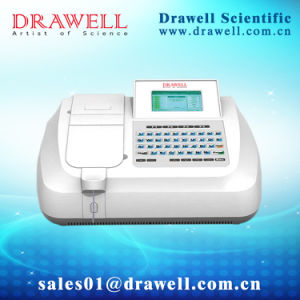 Semi-Auto Biochemistry Analyzer Drawell Silver-Plus pictures & photos