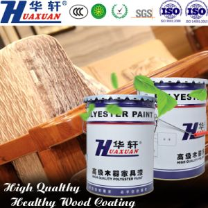Huaxuan PU Yellowing Resistant Standard Glossy White Top Coat Wooden Furniture Paint pictures & photos