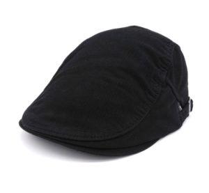 Cotton Black IVY Cap pictures & photos