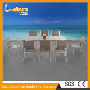 Multi-Use Rural Style Outdoor Garden Farm Furniture Plastic Wood Table and Chair pictures & photos
