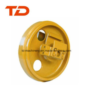 R130 Excavator Front Idler Construction Machinery Quality Front Guide Idler for Undercarriage Parts pictures & photos