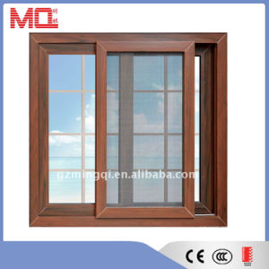 High Quality Aluminum Window with Wooden Color pictures & photos