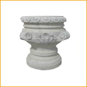 Wholesale Hand Made Granite Stone Garden Pot pictures & photos