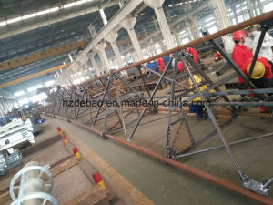 HDG Tubular Mast Communication Tower pictures & photos