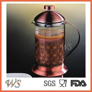 Wschmy043 Copper French Press Coffee Maker Hot Sell Stainless Steel Coffee Press pictures & photos