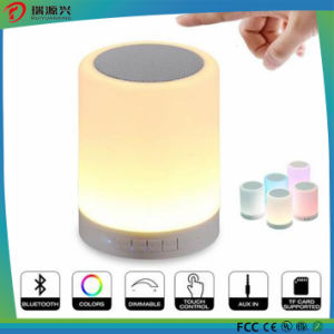New arrival bluetooth speaker with touch sensor lamp pictures & photos