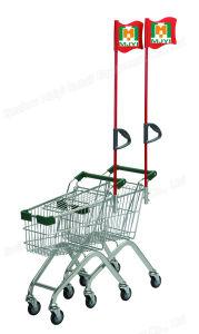 Supermarket Retail Convenient Children Shopping Trolley pictures & photos