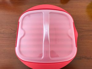 Plastic Silcone Microwave Bacon Cooker Pan/Cook Bacon in The Microwave Quickly and Cleanly pictures & photos