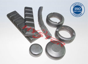 63HRC High Chromium White Iron Domite Wear Donuts / Wear Buttons / Chocky Bars for Abrasion pictures & photos