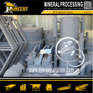 Gold Chrome Tungsten Tantalum Niobium Coal Minerals Processing Spiral Chute pictures & photos