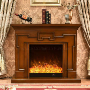 Modern Furniture MDF Heater Electric Fireplace with Ce Approved (342) pictures & photos
