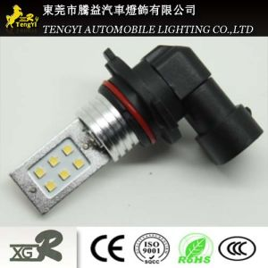 12V 12W LED Car Light Auto Fog Lamp Headlight with H1/H3/H4/H7/H8/H9/H10/H11/H16 Light Socket CREE Xbd Core pictures & photos