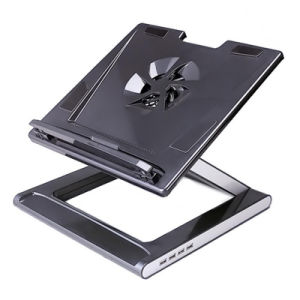 "10""-17"" Notebook Laptop Stand with 4 Ports USB2.0 Hub pictures & photos"
