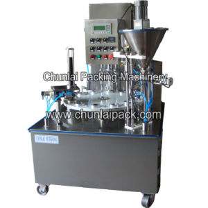 Nepresso Compatible Capsule Filling Sealing Machine pictures & photos