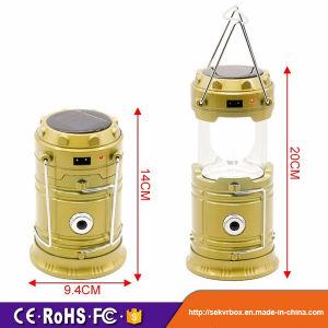 5800t Solar Rechargeable Lantern, Solar Rechargeable Camping Lantern, Solar Camping Lamp Rechargeable LED Lantern pictures & photos