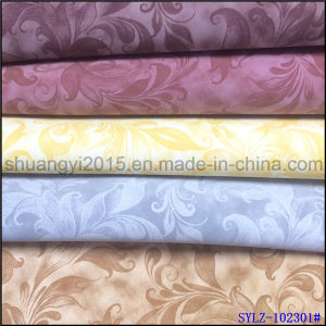 Colorful PU Yangbuck Leather for Shoes Upholstery pictures & photos