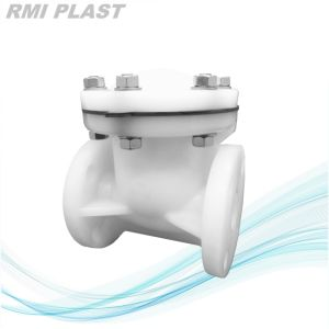 Plastic Swing Check Valve by Flange End DIN ANSI JIS pictures & photos