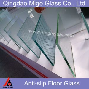 Tempered Laminated Anti-Slip Glass Floor & Stair Treads pictures & photos